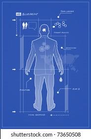 Businessman Blueprint