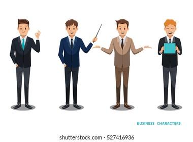 businessman character design No 2