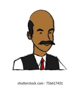 Businessman executive cartoon