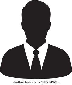 Businessman Icon Vector Logo Template