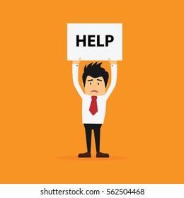 Businessman need a help