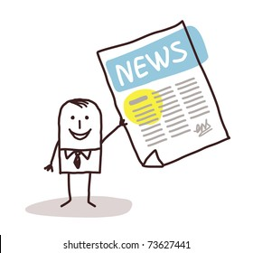 Newspaper Cartoons Images, Stock Photos & Vectors | Shutterstock