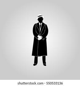 Businessman sillhouette
