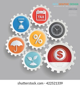 Business,strategy concept design on clean background,vector