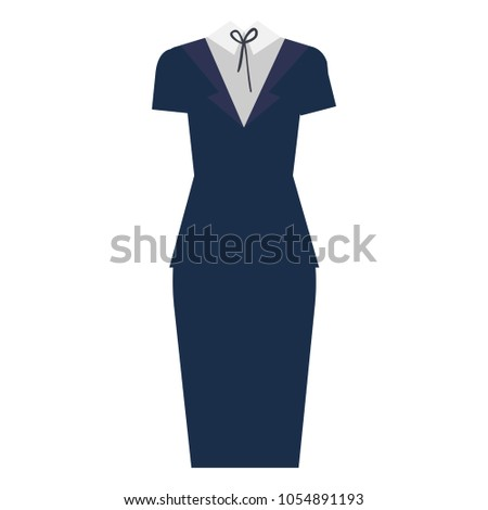 0f269fefcc228 Royalty-free stock vector images ID: 1054891193. businesswoman clothes  accessory icon - Vector