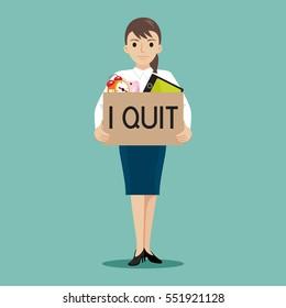 Quit Job Images, Stock Photos & Vectors | Shutterstock