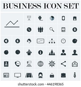 Bussines Icon Set