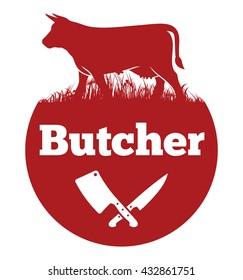 Butcher vector icon
