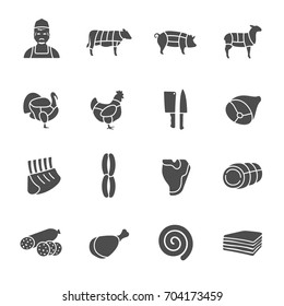 Butchery icons