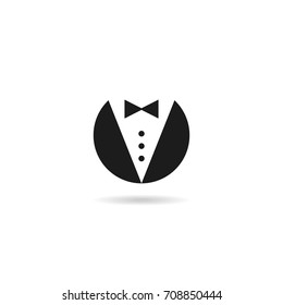 butler gentleman icon  vector business man symbol