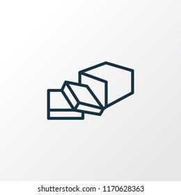Butter icon line symbol. Premium quality isolated margarine element in trendy style.
