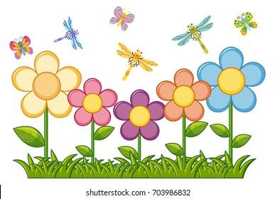 Flower Garden Clip Art