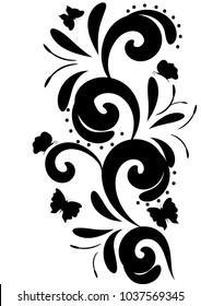 butterflies spiral pattern