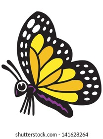 cartoon monarch butterfly images stock photos vectors shutterstock rh shutterstock com monarch butterfly cartoon images cartoon pictures of monarch butterfly
