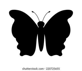 butterfly graphic design , vector illustration