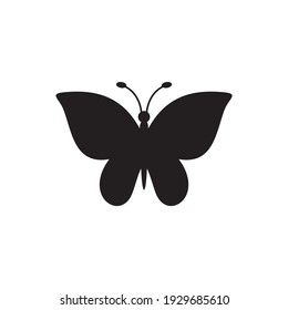 butterfly icon symbol sign vector