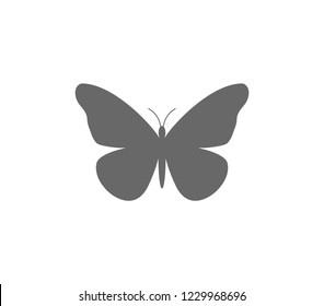 Butterfly icon. Butterfly vector illustration.