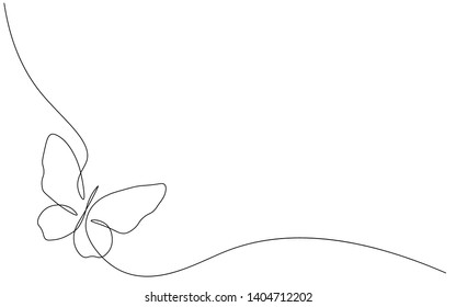 Butterfly isolated on white background vector illustration
