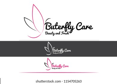 Butterfly Logo Design Template