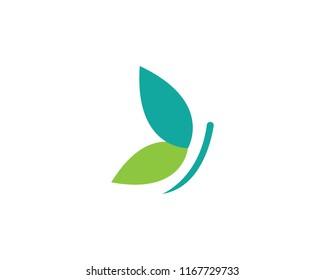 Butterfly Logo Template Vector icon design