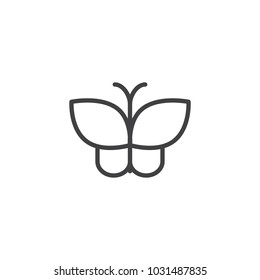 butterfly outline images stock photos vectors shutterstock