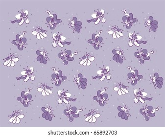 Butterfly Princess with Wand Pattern