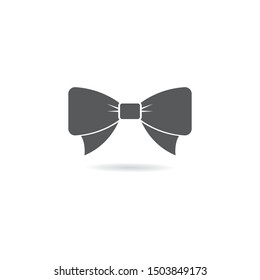 Butterfly tie vector icon illustration design