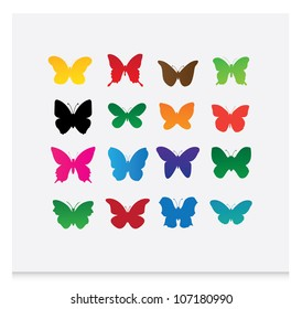 butterfly (vector) 2