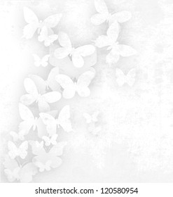 butterfly (White)
