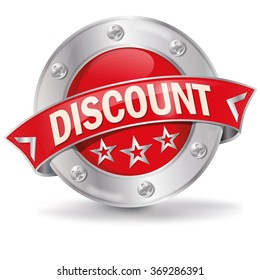 Button with discount