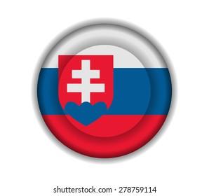 button flags slovakia