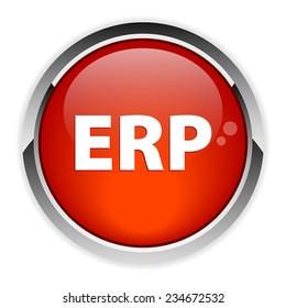 button internet ERP red