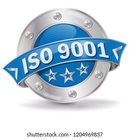 Button ISO 9001 and business guarantees