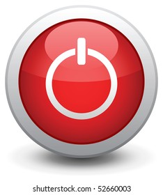Button for a site web. A vector illustration, it is easy to edit and change.