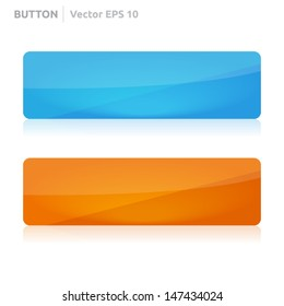 Button template | vector design eps | business banner with symbol icon | website element | web
