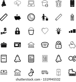 button vector icon set such as: play, share, hosting, commerce, menu, invest, item, mathematical, privacy, dustbin, logo, smart, cardio, road, trashcan, delete, screen, networking, note, mailbox