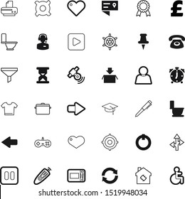 button vector icon set such as: school, chip, spin, repeat, medal, warranty, certificate, space, experiment, hot, shipping, reset, blank, callcenter, receiver, laboratory, bottleneck, security, red