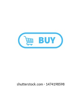 buy button icon vector design. ui material of buy button design