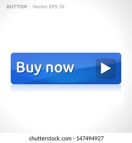 Buy now button template   vector design eps   business banner with symbol icon   website element   web blue