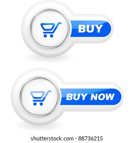 BUY NOW. Shopping cart for shop. Vector add button for online sale.