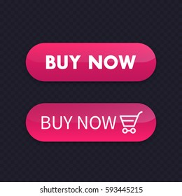 buy now, vector buttons for web