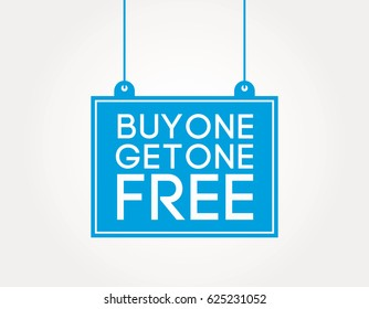 buy one get one free information boards