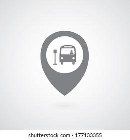 buy symbol on gray background