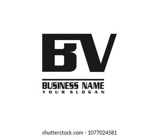 BV company linked letter logo