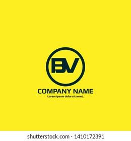 BV company linked letter logo concept. Designed for your web site design, logo, app, UI. initial logo design
