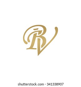BV initial monogram logo