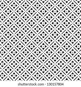 B&W elegant vector pattern