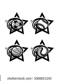 B/W Sport Star