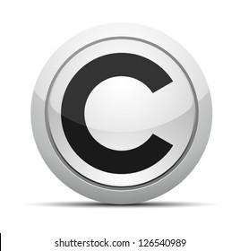 C button (CopyRight/Credi/Cent)