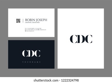 Business Card Template Mockup Flat Design Stock Vector Royalty Free